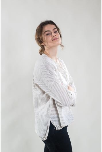 Blouse Anastasia Coton rayé