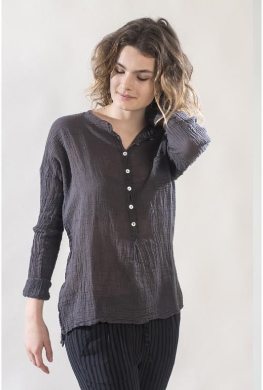Blouse Anastasia Gaze de coton
