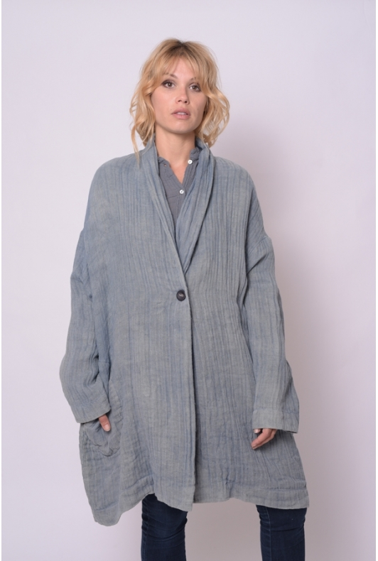Manteau Lac Collection Indigo Gris