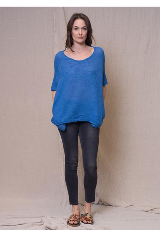 Tee-Shirt Roc Gaze de Coton Barbare