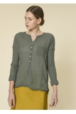 Blouse Anastasia Gaze de Coton Jungle