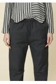 Pantalon Bag Lin Presque Noir