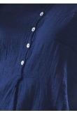 Blouse Anastasia Gaze de Coton indigo