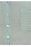 Blouse Anastasia Gaze de Coton Lichen