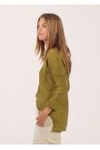 Blouse Anastasia Gaze de Coton Ambre