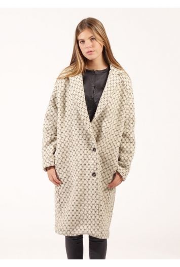 Manteau Bill Chevron