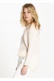 Blouse Loose Gaze de Coton Naturel