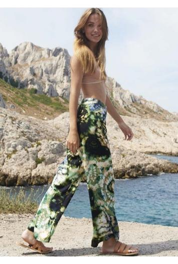 Pantalon Lem Viscose Naturelle Imprimé