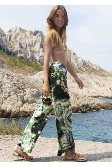 Pantalon Lem Viscose Naturelle Imprimé AL11