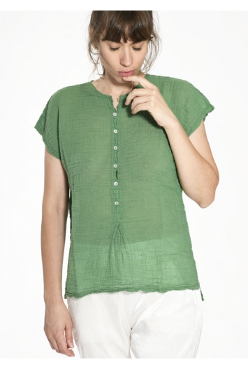 Blouse Sam Gaze de Coton